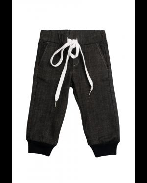 A8 Pantalon Baieti cu siret blue