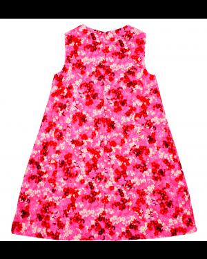 6Rochita roz cu imprimeu floral